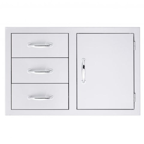 3-Drawer/Door Combo - Chimney Cricket