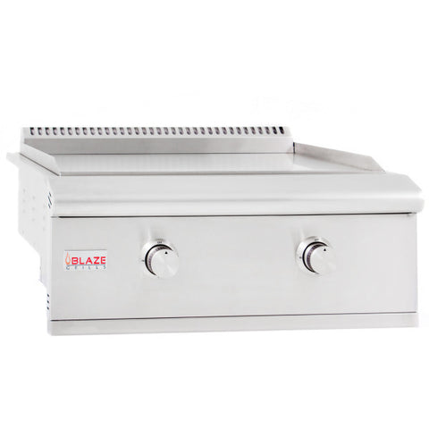"30"" Blaze Built-in Gas Griddle - Chimney Cricket"
