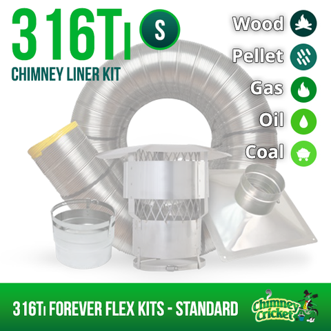 304L Forever Flex Kits - STANDARD - Chimney Cricket