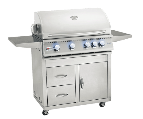 "32"" Summerset Sizzler Pro Freestanding Grill - Chimney Cricket"