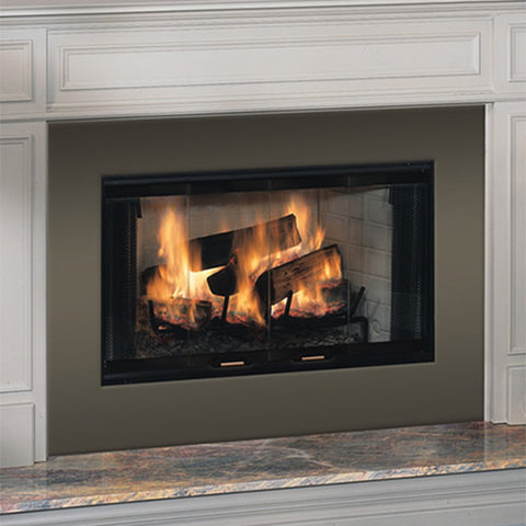"Majestic 42"" Royalton Wood Burning Fireplace - Chimney Cricket"