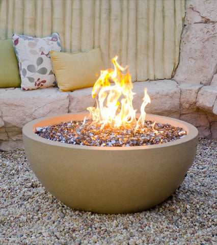 "American Fyre Designs 36"" Fire Bowl - Chimney Cricket"
