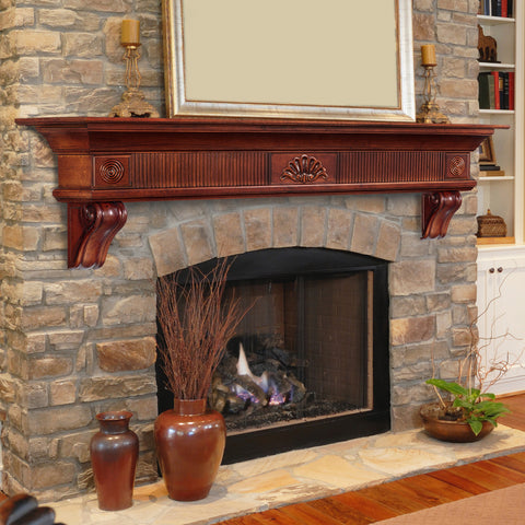 Mantels - DEVONSHIRE 416-72-70 - Chimney Cricket
