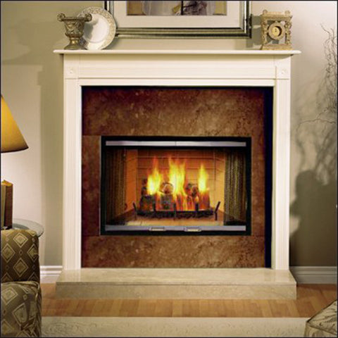 "Majestic Sovereign Wood Burning Fireplace 42"" - Chimney Cricket"