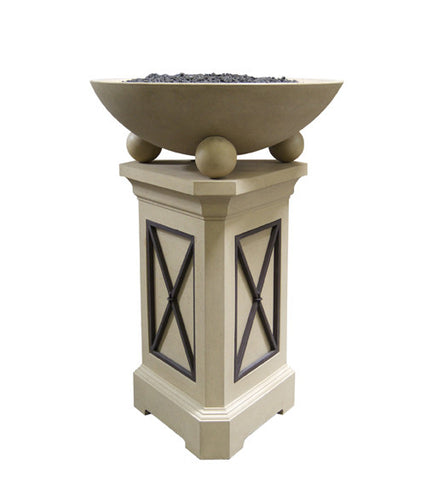 "American Fyre Designs 44"" Pedestal - Chimney Cricket"