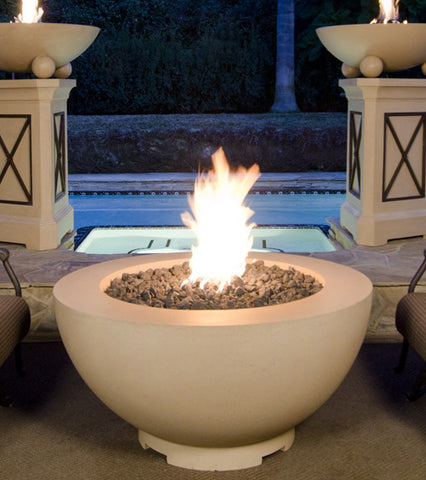 "American Fyre Design 48"" Fire Bowl - Chimney Cricket"