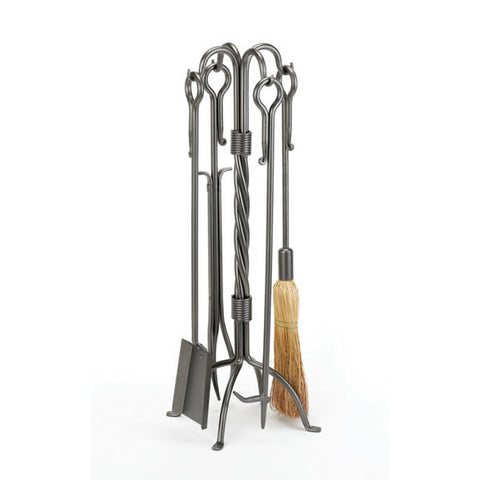 Fireplace Tools - Vintage Iron Tool Set #61215