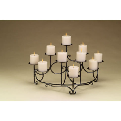 Fireplace Accessories - Minuteman Spandrels Candelabra #71160 - Chimney Cricket