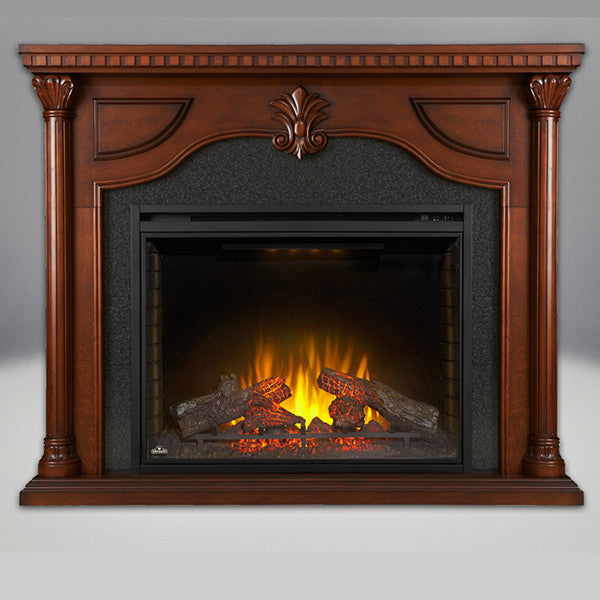 Ascent 33 Electric Fireplace W Heater 110v 33