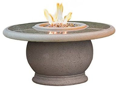 Amphora Fire Table with Granite Insert - Chimney Cricket
