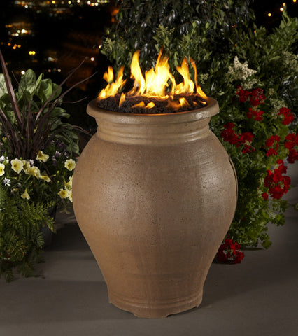 American Fyre Designs Amphora Fire Urn - Chimney Cricket