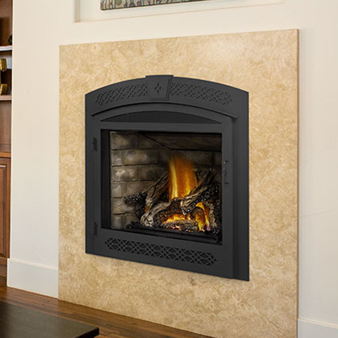 Ascent Series Clean Face Builder Gas Fireplace - Chimney Cricket