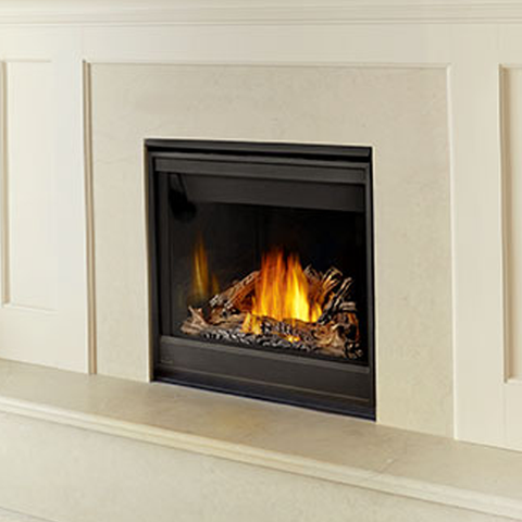 Ascent™ X Series - GX36 Clean Face Gas Fireplace - Chimney Cricket