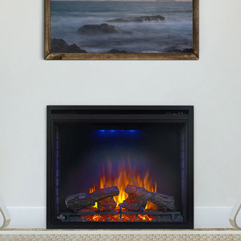 Ascent Electric Fireplace w/ Heater - 110V 33""