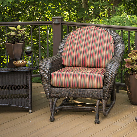 Balsam Outdoor Furniture Collection - Chair Dorsette Cherry - Chimney Cricket