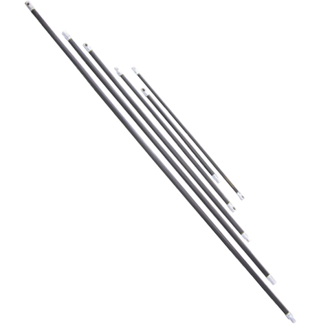 ButtonLok Black Poly Rods - Chimney Cricket