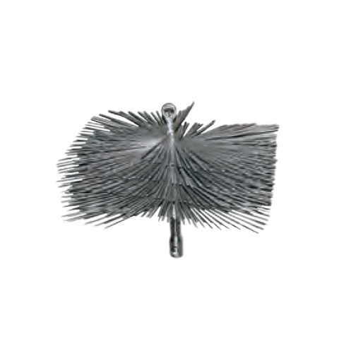 ButtonLok Chimney Flat Wire Brushes - Round - Chimney Cricket
