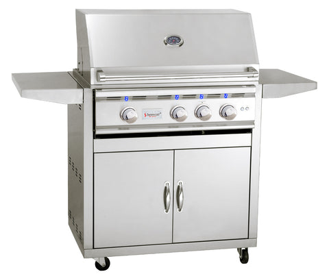 "32"" Summerset TRL Freestanding Grill - Chimney Cricket"