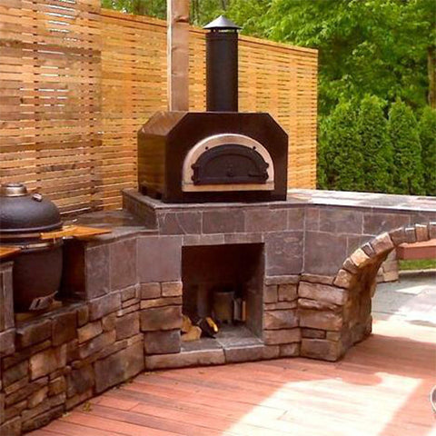 Chicago Brick Oven 500 Countertop Pizza Oven - Chimney Cricket
