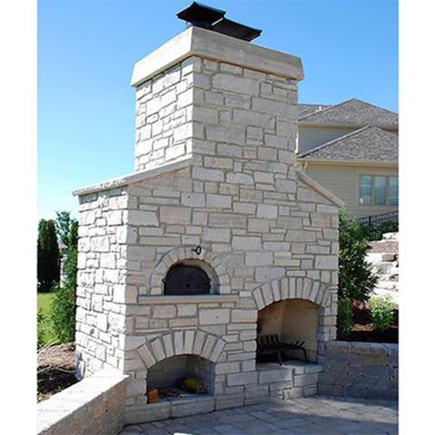Chicago Brick Oven 500 Series Pizza Oven - Chimney Cricket