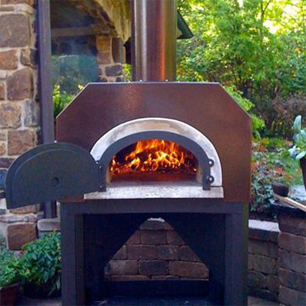 Chicago Brick Oven 750 Pizza Oven Cart Model Chimney Cricket