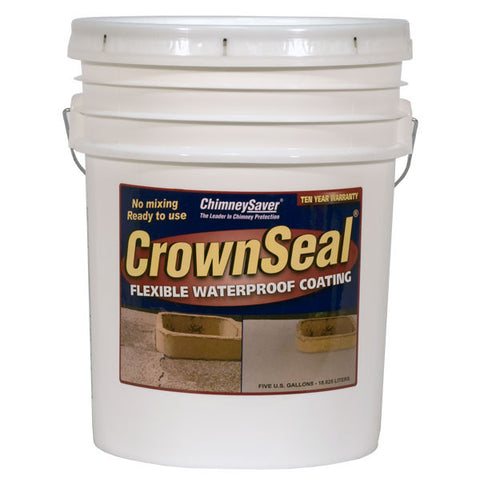 ChimneySaver Crown Seal Flexible Crown Repair - Chimney Cricket