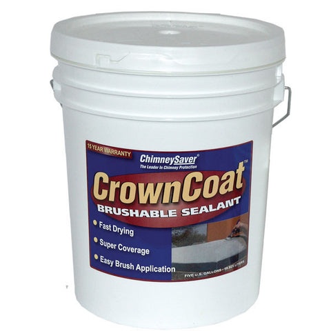 ChimneySaver Crowncoat Brushable Sealant - Chimney Cricket