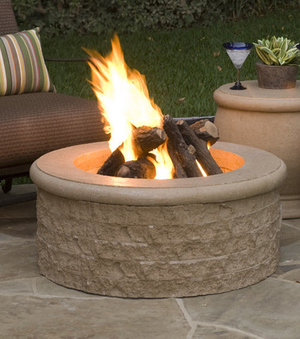 American Fyre Design Chiseled Fire Pit - Chimney Cricket