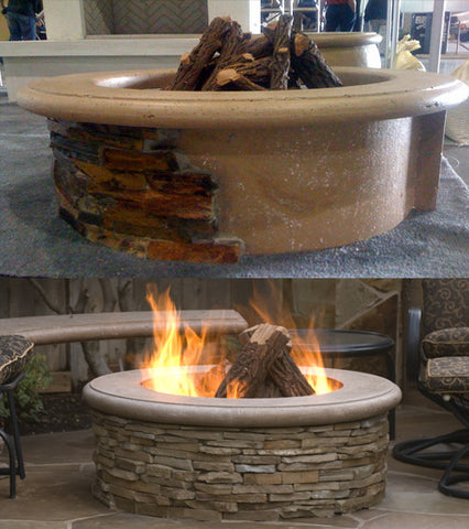 American Fyre Designs Contractor's Model Firepit - Chimney Cricket