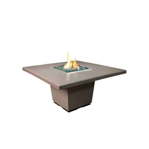 Cosmopolitan Square Dining Firetable - Chimney Cricket