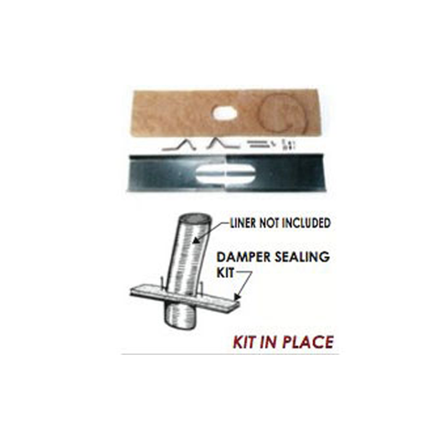 Damper Sealing Kit - Chimney Cricket