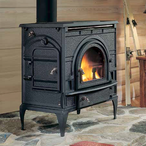 DutchWest Catalytic Wood Burning Stove - Chimney Cricket