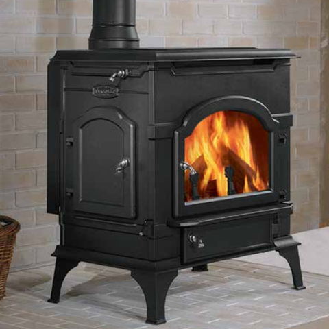 DutchWest Non-Catalytic Wood Burning Stove - Chimney Cricket