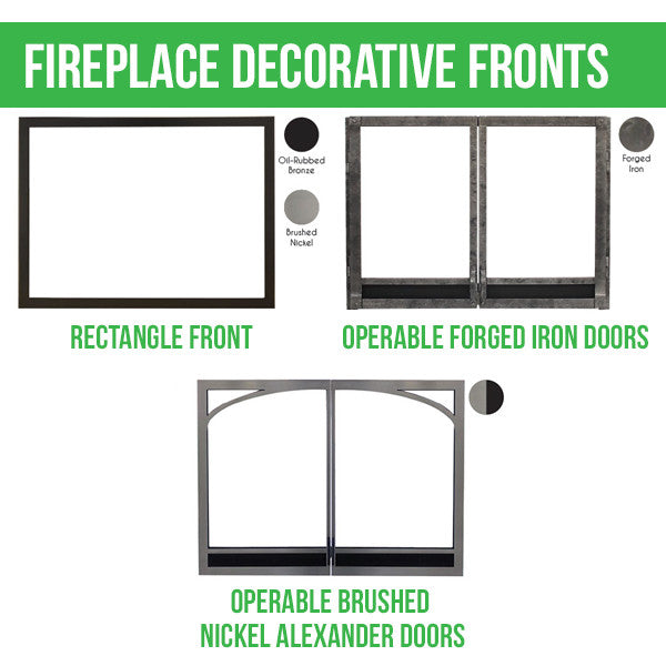 Empire Tahoe Clean Face Direct Vent Fireplace Luxury 42 ...