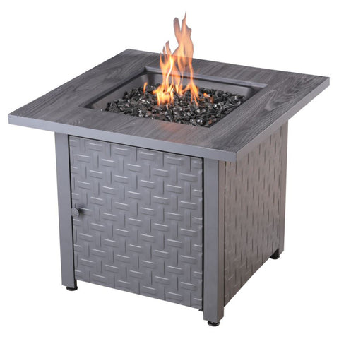 """Drexel"" LP Gas Outdoor Fire Pit - Chimney Cricket"