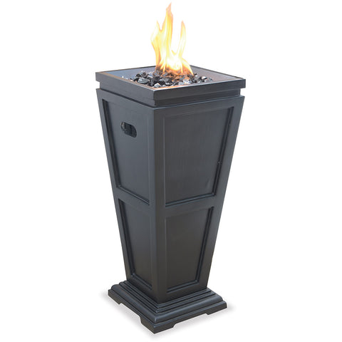 LP Gas Outdoor Fire Column - Chimney Cricket