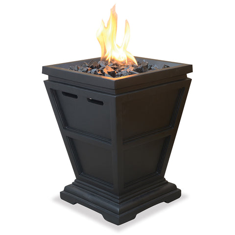 LP Gas Outdoor Fire Column (Small) - Chimney Cricket