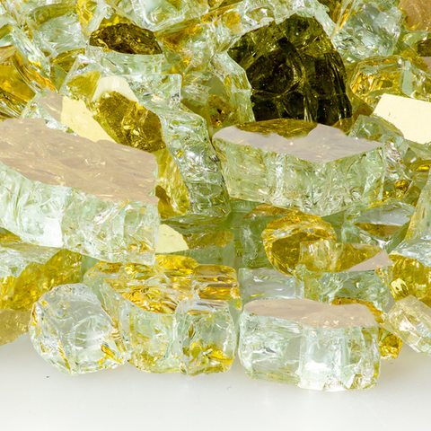 "1/2"" Goldrush Reflective Fireglass"