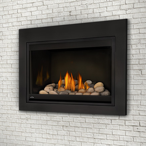 Grandville™ Direct Vent Clean Face Gas Fireplace - Chimney Cricket