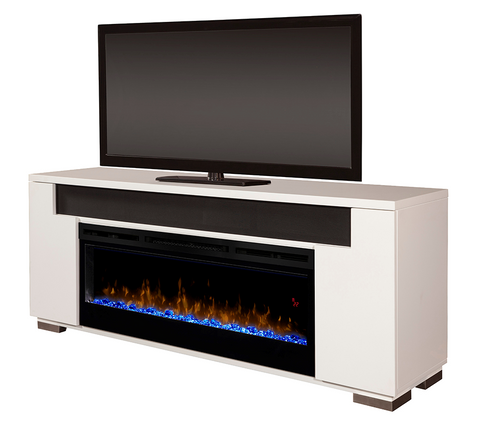 DIMPLEX Haley Media Console Electric Fireplace 253-GDS50G5-1671-W