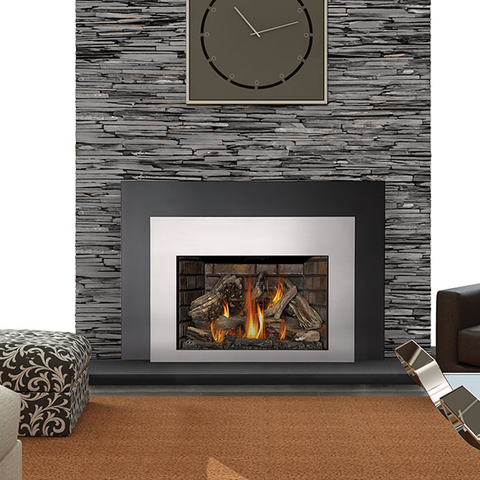 Infrared X4 Direct Vent Fireplace Insert - Chimney Cricket