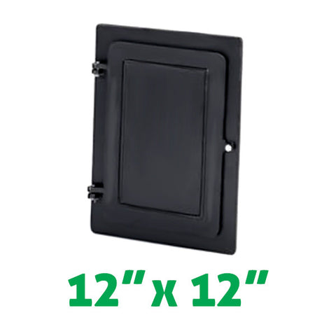 "Insulated Cleanout Doors 12"" x 12"" - Chimney Cricket"