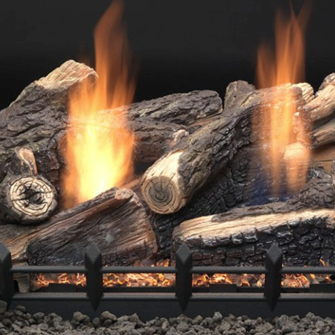 Kentucky Wildwood Vent Free Gas Log Set - Chimney Cricket