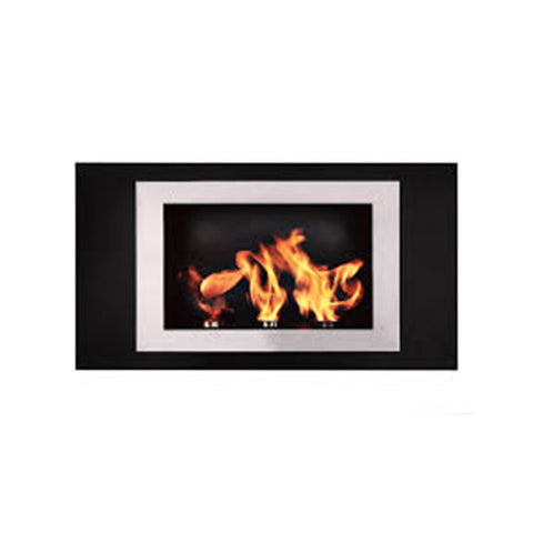 Lorenzo Wall Mount Fireplace - Chimney Cricket