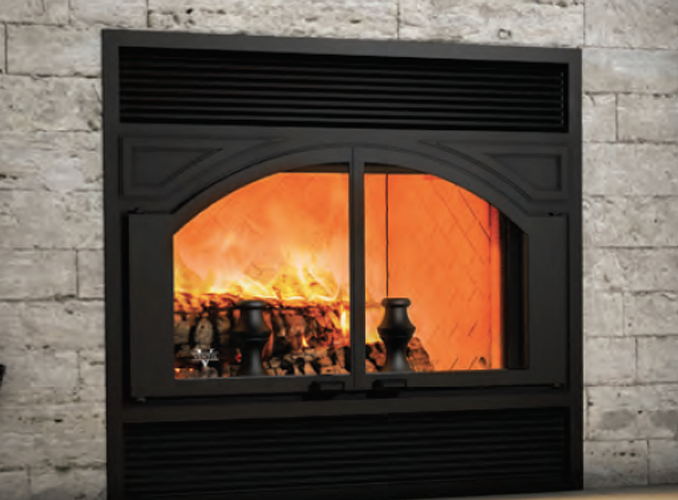 Ventis Zero Clearance Wood Fireplaces Me300 Chimney Cricket