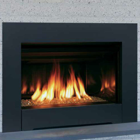 Madison Park 27 Direct Vent Insert (Contemporary) - Chimney Cricket