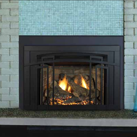 Madison Park 32 Direct Vent Insert (Traditional Style) - Chimney Cricket