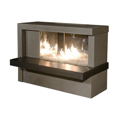 Manhattan Outdoor Fireplace - Chimney Cricket