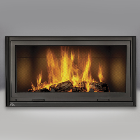 NZ7000 High Country EPA Zero-Clearance Wood Burning Fireplace - Chimney Cricket