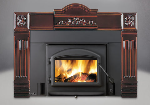 Oakdale™ 1101 Wood Burning Insert - Chimney Cricket